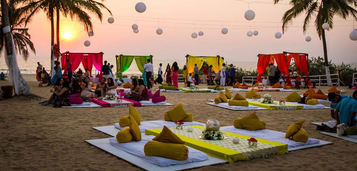 Beach wedding in goa theme wedding in goa beach wedding planner zuri white sands goa junglespirit Images