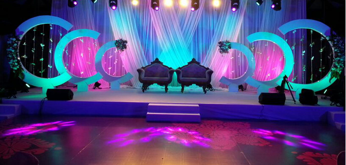 Backdrop for Wedding Reception Image